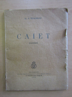Anticariat: Al. O. Teodoreanu - Caiet