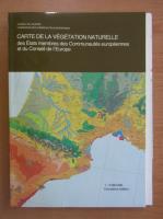 Anticariat: Carte de la vegetation naturelle
