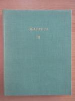 Anticariat: Claude F. A. Schaeffer - Ugaritica III (volumul 8)