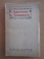 Anticariat: E. Tribouillois - Apprenons la Grammaire!