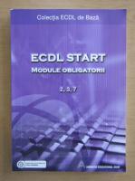 Anticariat: ECDL Start. Module obligatorii 2, 3, 7