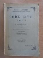 Anticariat: Ed. Fuzier Herman - Code civil annote (volumul 5)