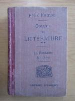 Anticariat: Felix Hemon - Cours de litterature (volumul 2)