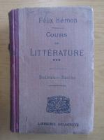 Anticariat: Felix Hemon - Cours de litterature (volumul 3)