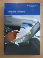 Anticariat: Investir en Roumanie