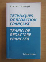 Anticariat: Nicolae Florentin Petrisor - Tehnici de redactare franceza
