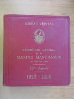 Anticariat: Repertoire General de la Marine Marchande