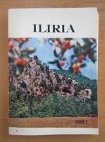 Anticariat: Revista Iliria, nr. 1, 1989