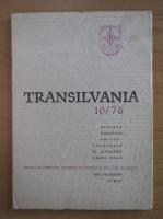 Anticariat: Revista Transilvania, anul VII, nr. 10, 1978