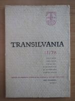 Anticariat: Revista Transilvania, anul VII, nr. 11, 1978
