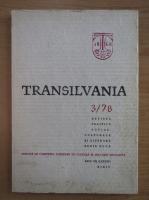 Anticariat: Revista Transilvania, anul VII, nr. 3, 1978