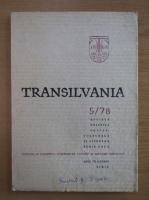 Anticariat: Revista Transilvania, anul VII, nr. 5, 1978