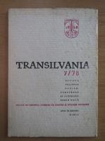 Anticariat: Revista Transilvania, anul VII, nr. 7, 1978