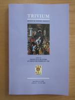 Anticariat: Revista Trivium, anul XI, nr. 2, aprilie-iunie 2019