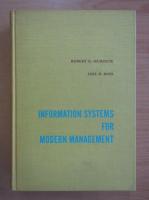 Anticariat: Robert G. Murdick - Information Systems for Modern Management