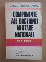 Anticariat: Componente ale doctrinei militare nationale