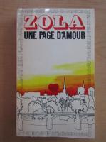 Anticariat: Emile Zola - Une page d'amour