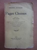 Anticariat: Fredrich Nietzsche - Pages Choisies