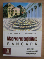Ioan I. Trenca - Macroprudentialitate bancara