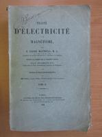J. Clerk Maxwell - Traite d'Electricite et de Magnetisme