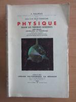 Anticariat: J. Tillieux - Essai d'un Traite Elementaire de Physique