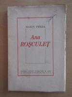 Anticariat: Marin Preda - Ana Rosculet