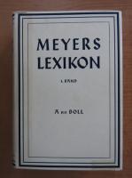 Anticariat: Meyers Lexikon (volumul 1)