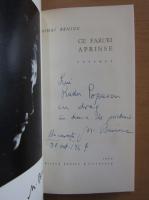 Anticariat: Mihai Beniuc - Cu faruri aprinse (cu autograful autorului)