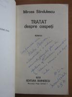 Anticariat: Mircea Sandulescu - Tratat despre oaspeti (cu autograful autorului)