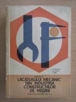 Anticariat: Vasile Nicolescu - Manualul lacatusului mecanic din industria constructiilor de masini