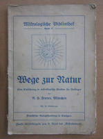Anticariat: Wege zur Natur (volumul 4)