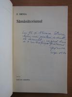 Anticariat: Z. Ornea - Samanatorismul (cu autograful autorului)