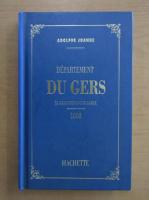 Anticariat: Adolphe Joanne - Departement du gers
