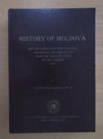 Anticariat: Constantin Burlacu - History of Moldova