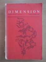 Anticariat: Dimension, vol. 11, nr. 3, 1978
