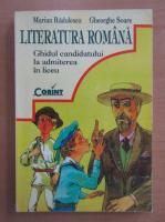 Anticariat: Mariana Radulescu - Literatura romana