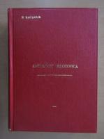 Anticariat: N. Bagdasar - Antologie filosofica