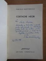 Anticariat: Pericle Martinescu - Costache Negri (cu autograful autorului)