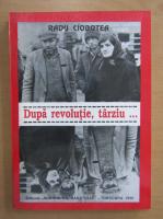 Anticariat: Radu Ciobotea - Dupa revolutie, tarziu