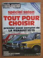 Anticariat: Revista L'Auto-Journal, nr. 17, octombrie 1972