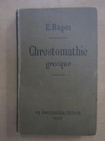Anticariat: E. Ragon - Chrestomathie Grecque