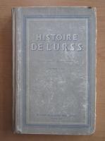 Anticariat: Histoire de L'URSS (volumul 1)