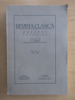 Anticariat: Revista Clasica, tomul IX-X, 1937-1938