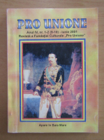 Anticariat: Revista Pro Unione, anul IV, nr. 1-2, iunie 2001