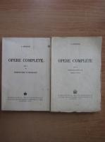 S. Mehedinti - Opere complete (volumul 1, partea I si a II-a)