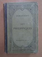 Demosthene - Sept philippiques