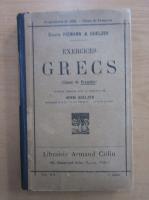 Anticariat: Exercices grecs