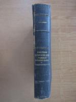 Anticariat: F. X. Lesbre - Precis d'anatomie comparee des animaux domestiques (volumul 1)