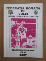 Anticariat: Federatia Romana de Volei. Buletin informativ, nr. 23, 1997