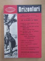 Anticariat: Revista Orizonturi, anul IX, nr. 111-112, august-septembrie 1960